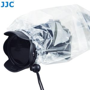 Image 3 - JJC 2 шт. водонепроницаемый чехол для объектива DSLR, защитный чехол от дождя, беззеркальных камер, дождевик для Canon, Nikon, Sony, Fuji, Panasonic, прозрачный