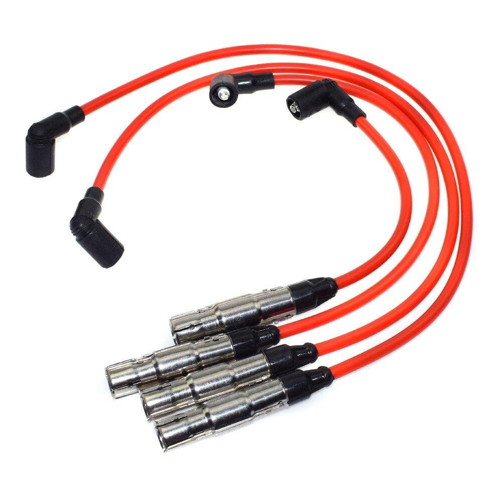 NGK Spark Plug Ignition Wire Set For Suzuki Swift 1989-1994