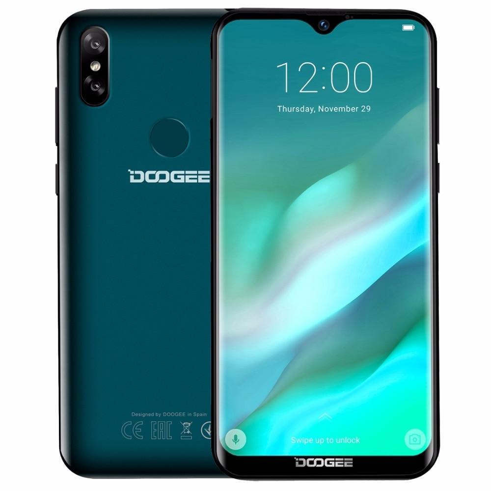 DOOGEE Y8 écran goutte d'eau Smartphone 6.1
