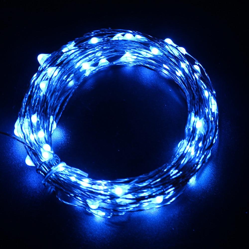 Hi-Lumix 20M 200leds Koppartråd Solar ledsträngslampa Vattentät - Festlig belysning - Foto 4