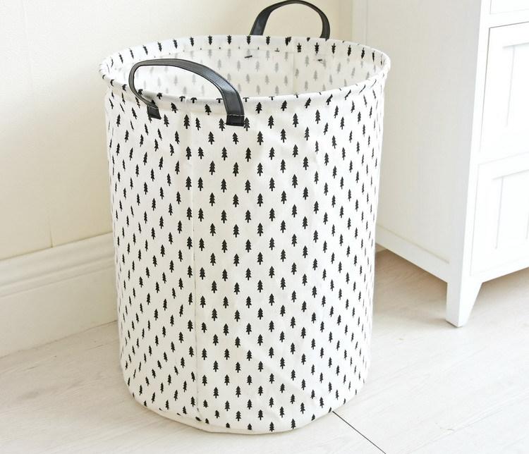Laundry Basket 35*45 CM Sundries Storage Container Folding Storage Basket Toys Home Clothes Storage Bag Clothes Organizer 12