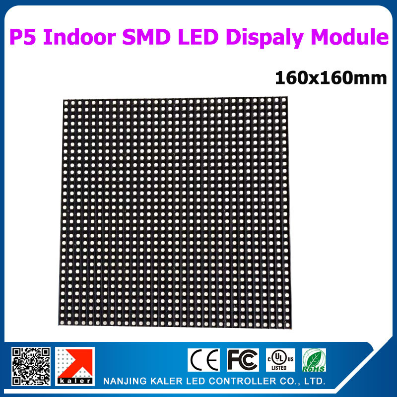 TEEHO 16x16cm p5 indoor led module 3528SMD full color rgb led panel 64x64 dots 1/16S led display module for videotron video wall