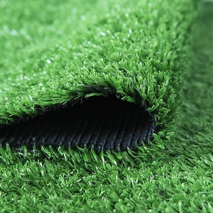 Image 1 - 1 Square Meter Artificial Plastic Green Grass Carpet for Grass Wall Home Wedding Party Engineering Decor Artificial Lawn