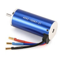 Car Motor 4092 3T KV700 5mm Sensorless Brushless Motor for 1/8 Bigfoot RC Car Model Spare Parts Accessories