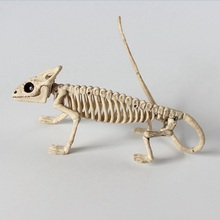 Kigurumi Halloween Cosplay Props frog bat skeleton lizard Skeleton model horror animals decorate haunted house props