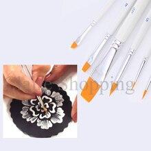 Инструменты для украшения торта 6 шт. кисть для смазывания торта помадные инструменты ручка инструменты