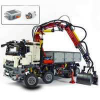 Lepin 20005 technic series Arocs Model Building blocks Bricks Compatible with 42043 Funny Toy for Children 3245pcs Walkie Talkie