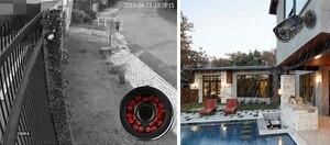 Image 4 - MISECU 4CH 5 1 DVR AHD ビデオ監視システムで 720 1080P 1080 1080P AHD カメラ屋外防水ホームビデオ監視システム HDD