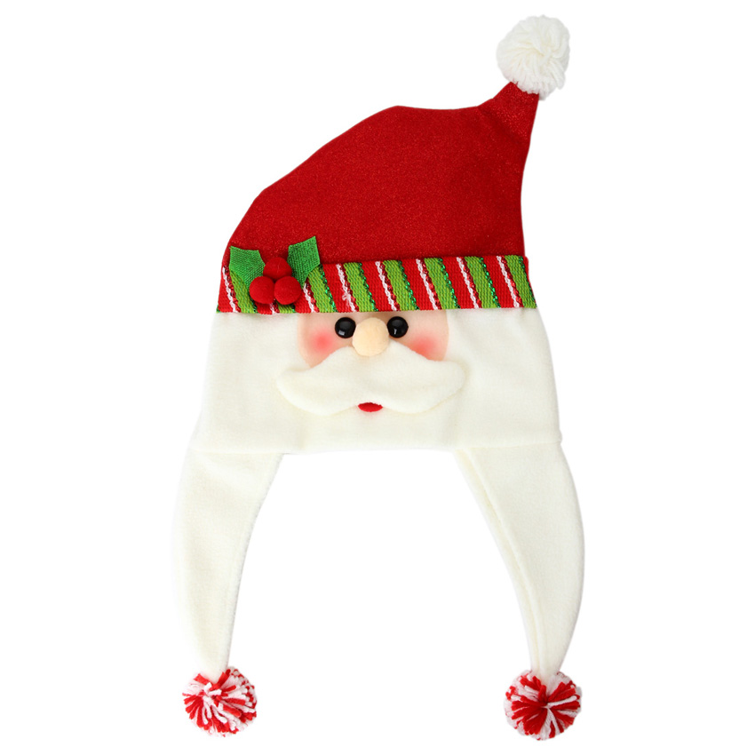 new arrival products women man unique cute wool reindeer snowman santa claus hat christmas hot sale caps for children gifts in christmas hats from home