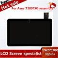 Полный ЖК-Дисплей + Сенсорный Экран Digitizer Замена Для ASUS Transformer Book T300Chi B125HAN01.0