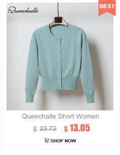 Queechalle 20 kolorów krótki sweter płaszcz lato wiosna