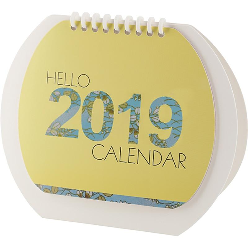 Hot Sale 2019 Creative Fruit Watermelon Desk Calendar Memo Planner Plan To Do List Daily Note Desktop Calendars Weekly Calendar