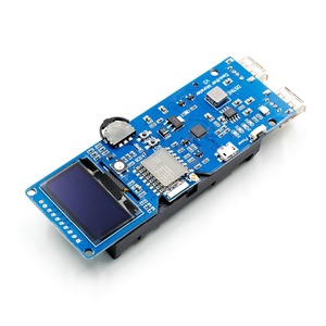 Image 4 - DSTIKE WiFi Deauther Monster ESP8266 1,3 OLED 8dB Antenne 18650 power bank 2A schnell lade 2USB 2.8A