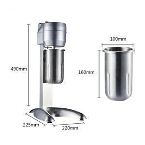 HIMOSKWA 220V Stainless Steel Commercial Smoothie Blender Food Processor Electric Milkshake Beverage Mixer Bar Fruit Blender