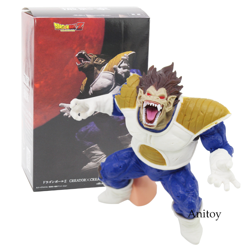 Dragon Ball Z CREATOR X CREATOR OHZARU VEGETA PVC Action Figure Collectible Model Toy 2 Styles fallout vault boy bobble head pvc action figure collectible model toy brinquedos 7 styles