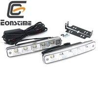 9V 30V High Quality 2pcs 10W 5 Led Car Lights LED Daytime Running Light High Power