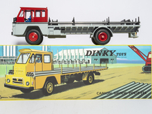 DINKY Toy 885 Atlas 1:43 Dinky Toys CAMION SAVIEM S7 PORTE-FER DIECAST CAR MODEL