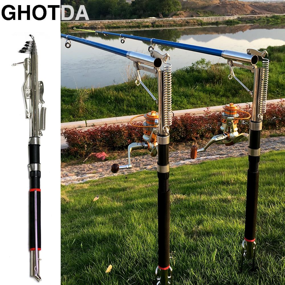 1,8/2,1/2,4/2,7 m Automatische Angelrute Empfindliche Teleskop Angeln Angelgerät