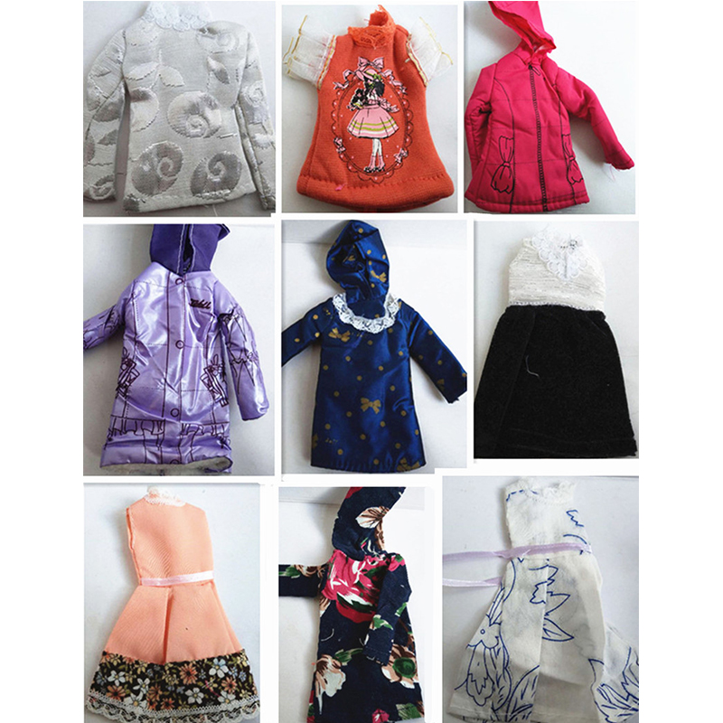 Fashion Pretty Clothes Jacket Dress Sweater For MC2 Princess Dolls Children' Toys For Girls