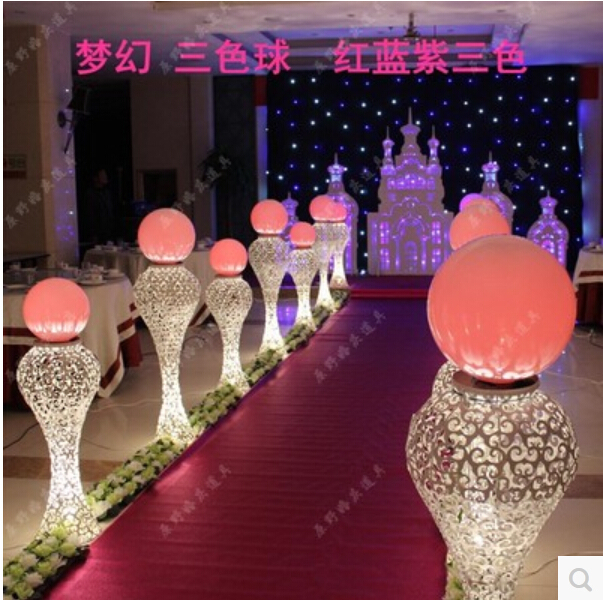 The new wedding props wedding decoration dream star ball lead the new wedding props wedding decoration dream star ball lead jellyfish road setting lamp on aliexpress alibaba group junglespirit Images