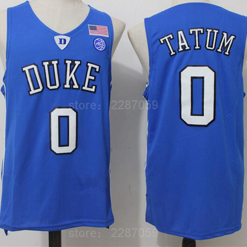 e323887403a ... ediwallen 0 jayson tatum college jersey duke blue devils men basketball  jerseys for sport fans all