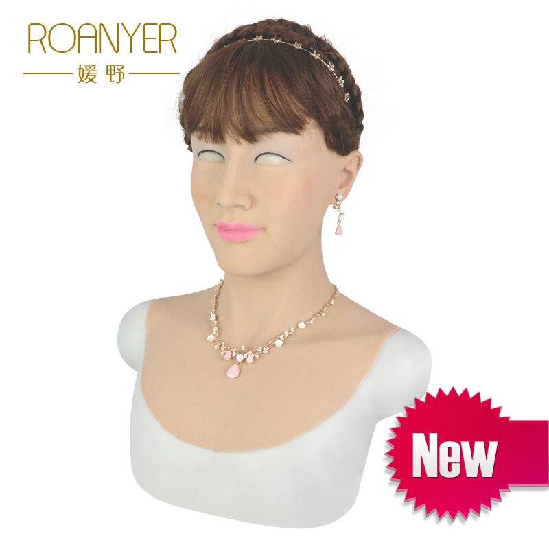 Roanyer Tia realistico sexy della pelle del silicone per trans crossdress cosplay di travestimento crossdresser transgender maschio a femmina