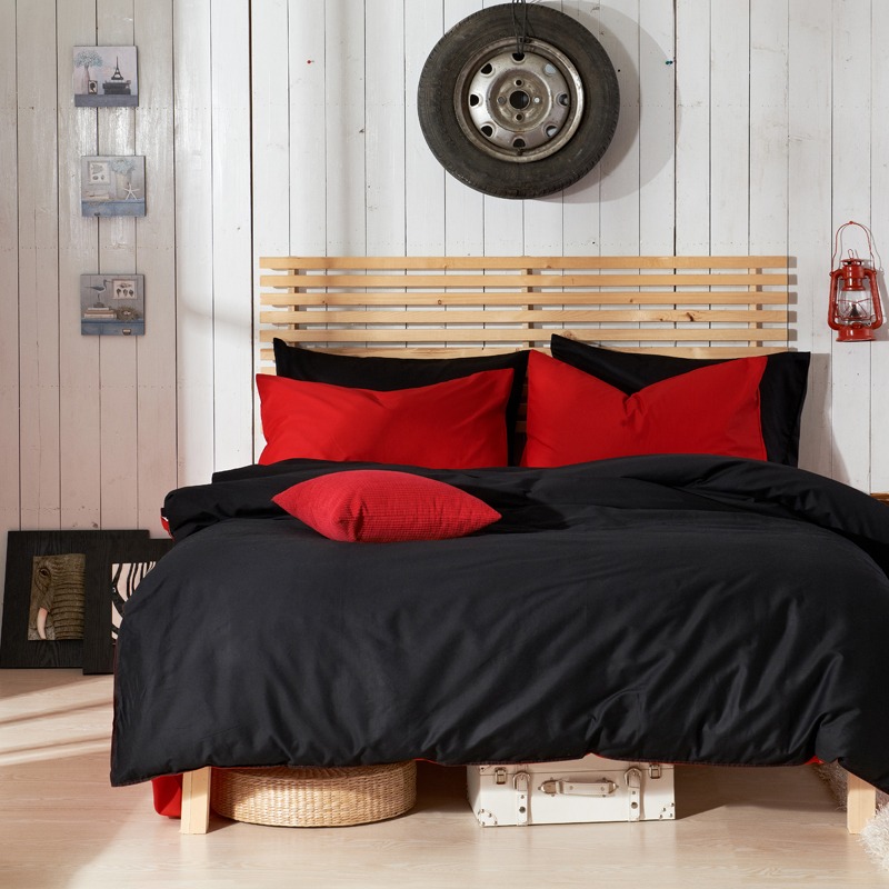 hot sales pure color bedding set twin queen king size bedding bed linen 4pcs - Queen Beds For Sale