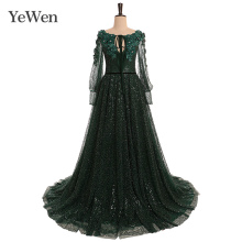 YEWEN Green Evening Dresses Special Occasion Dresses
