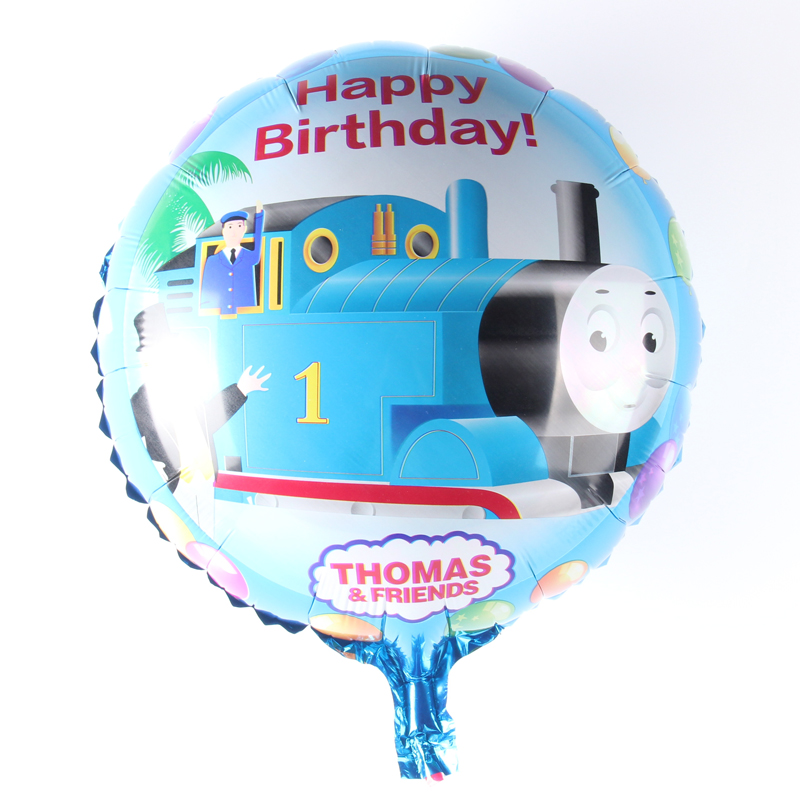 18inch Thomas& Friends Happy Birthday Balloon Aluminum Foil Balloons Party Decor