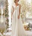 9054 2015 contas branco marfim vestidos de casamento com trem lace manga curta para noivas plus size maxi formais tamanho 2 - 28 W