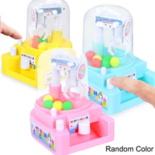 Kids Toys Mini Catching Balls Machine Clip Candy Machine Children Early Education Toys Boys Girls Desktop Sport Game Toy Gift children s toys game desktop toy pull stick toy multiplayer game party desktop interactive game kids education toys
