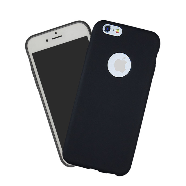 Matte Silicone Phone Bag Case For iPhone 7 6 S 5 5S SE