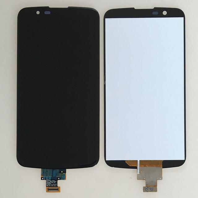 5.3 ''preto dispaly lcd touch screen digitador assembléia para lg k10 k410 k420 k430