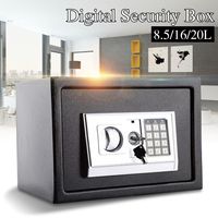 20L Home Office Professional safety box Electronic Safe Digital Security Box Home Office Cash Deposit Password Anti Theft
