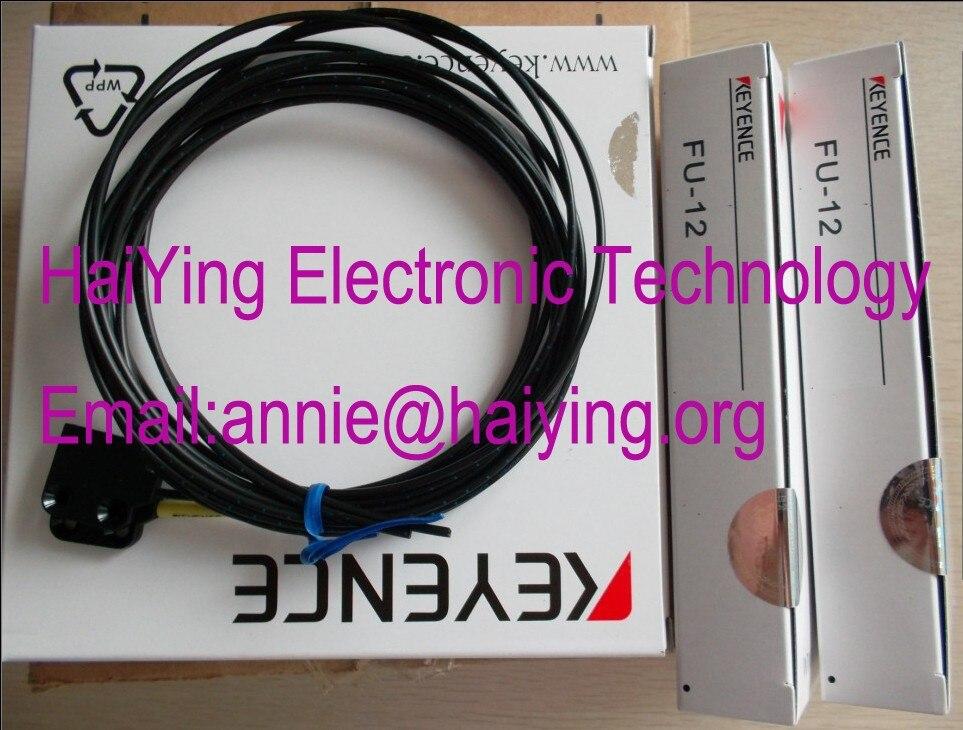 FU-12  KEYENCE Optical fiber sensor   Square of correlation optical fiber dhl ems 2 lots new keyence fu 34 transmissive fiber optic sensor switch