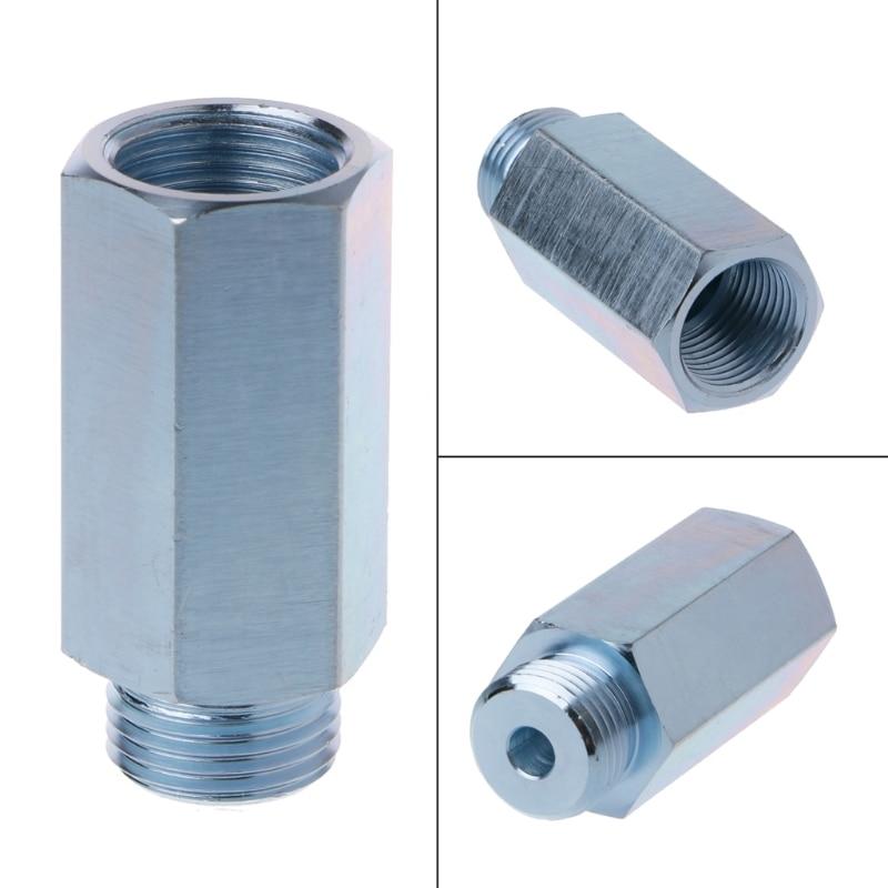 Automobiles M18x1.5 Lambda Oxygen Sensor Bung Adapter Extender Spacer Joints Converter Exhaust Gas Oxygen Sensor