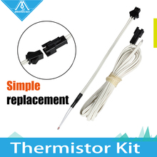 NEW!!!100K ohm NTC 3950 Simple replacement  Thermistors with cable for 3D Printer Reprap Mend Free Shipping