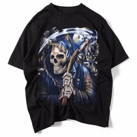 2017 Men T Shirts Famous Rock Band Guns N Roses Printed 100 180g Combed Cotton Top