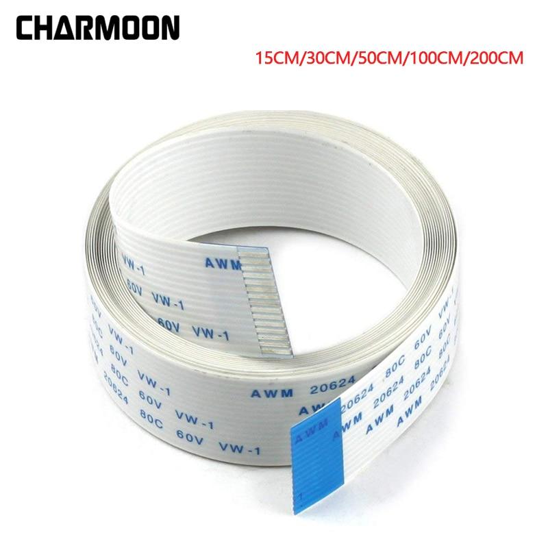 15Pin Ribbon Flex CSI Cable With 15cm 30cm 50cm 100cm 200cm Length For Raspberry Pi Camera
