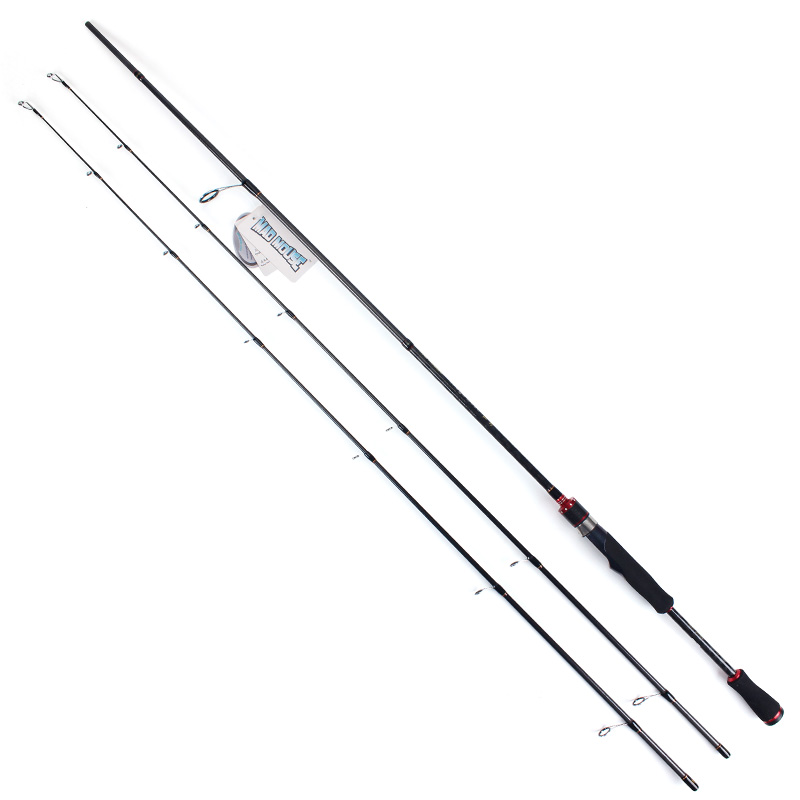MAD MOUSE 50T Japan high carbon 2 1M 2 4M double tips spinning casting fishing rods