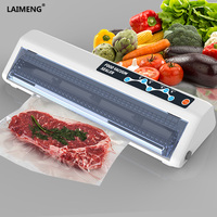 LAIMENG Vacuum Sealer Machine Touch Sensitive Button With Free Food Saver Packages Bag For Packing Vacuum