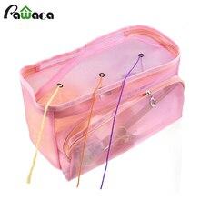 Переносная пряжа Бытовая сумка для хранения вязальная сумка чехол для хранения для вязания крючком спицы Швейные аксессуары