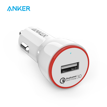 Anker Quick Charge 3.0 24W USB Car Charger, PowerDrive+ 1 for Galaxy S7 / S6 / Edge / Plus, Note 5 / 4 and PowerIQ for iPhone