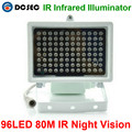 80m IR distance 96 Leds IR Illuminators Light IR Infrared Light LED CCTV Camera Night-vision Fill Light for CCTV Security Camera