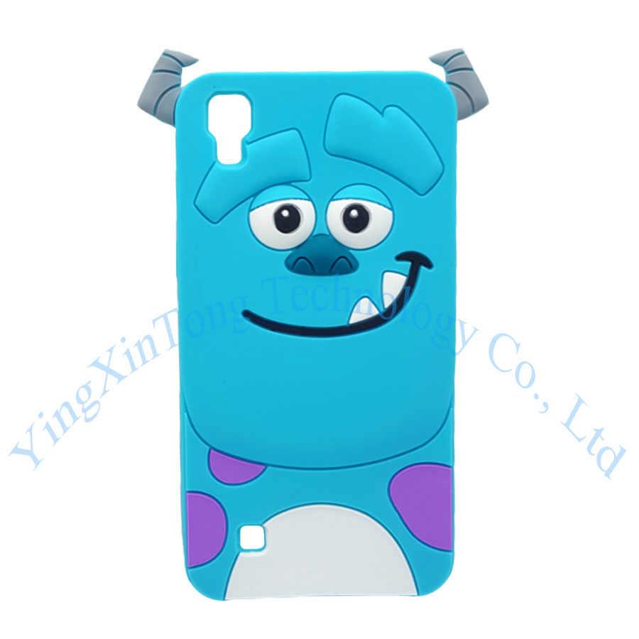 Для LG X Мощность чехол 3D силиконовая форма для льда «крем Минни, Ститч Единорог Лошадь пони из мультфильма мягкий чехол для мобильного телефона для LG X Мощность K210 K220DS