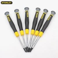 Stanley 6pcs migliore screwdriver set hex H0.9 H1.3 H1.5 H2 H2.5 H3 bit cacciavite esagonale esagonale cacciavite a testa di precisione