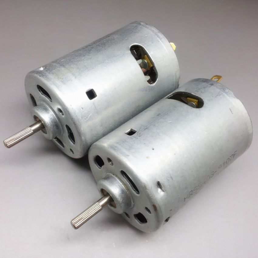540 Model Micro Motor DC6V 1.4A 19132RPM Ultrahigh Speed Industrial Motor for DIY Car Toys(Axis Dia 3mm, Axis Length 13mm)