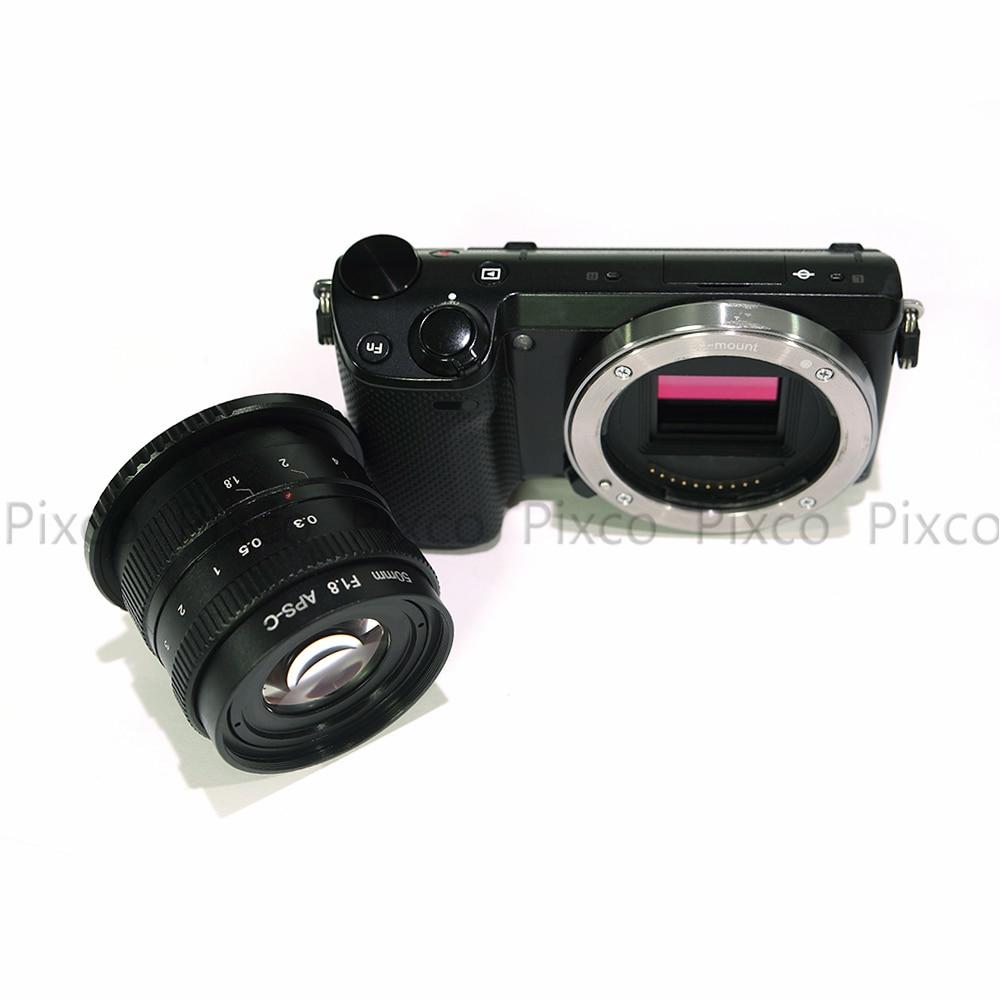 Pixco 50 mm f / 1.8 brez ogledala C-vgradni APS-C televizijski - Kamera in foto - Fotografija 2