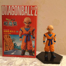 Dragon Ball Z Krillin Standing Style Action Figure DBZ Goku Friend Collection Model Toys 11cm(China)