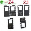 10 шт. Оригинальный Z5 Z3 Z4 Z3 Mini Сим-Карты для Sony Xperia Z4 Z3 Z3 + Z5 E6883 Sim-лоток Держателя Карты и Карта Micro Sd Reader слот